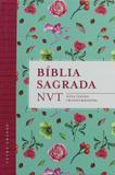 Bblia NVT - Flores Tiffany (Letra grande/capa dura) - Mundo cristão