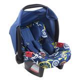 Bebê conforto Burigotto Touring Evolution azul bike Para crianças até 13kg