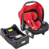 Bebê Conforto Touring Evolution Se Red + Base Burigotto