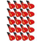 Bebedouro Aves Automático Concha 20 Unidades - Tambasa