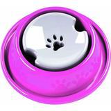 Bebedouro Cães Inteligente Medio Rosa Azul Pelos Longos - Pet injet