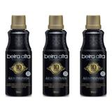 Beira Alta Black Água Oxigenada 10v 90ml (Kit C/03)