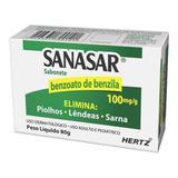 Benzoato de Benzila - SANASAR SAB 80GR - Kley hertz