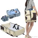 Berço portatil mochila maternidade termica trocador cama do bebe cercadinho vira bolsa - Faça  resolva
