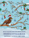 Beste Malbücher für Erwachsene (Weihnachtsmalbuch) - Arts and crafts for kids ltd