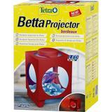 Beteira Tetra Betta Projector Vermelho Led 1,8 Litros