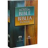Bíblia Bilíngue Português Inglês - Capa Dura - Versão NTLH - Editora sbb e sba