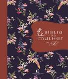 Biblia Da Mulher De Fe - Capa Flores Com Faixa Avermelhada - Thomas nelson brasil
