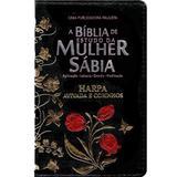 Bíblia de Estudo da Mulher Sábia - Preta - Casa publicadora paulista