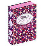 Bíblia gd harpa lt gigante popular flor - Editora cpad