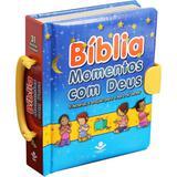 Bíblia Ilustrada Momentos com Deus - Com Alça - Sociedade bíblica do brasil