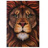 Biblia Lettering Leão Colorido - Flexa