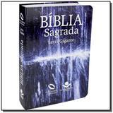 Biblia nova almeida atualizada letra gigante - cap - Sociedade biblica - sbb