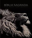 Biblia Nvt Lg St - Capa Lion Head - Mundo cristao