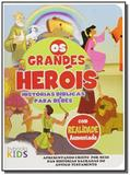 Biblia os grandes herois: historias biblicas para - Bv films
