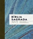 Biblia Sagrada Nvt - Azul Claro - Letra Normal/brochura - Mundo cristao