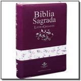 Biblia sagrada - revista e corrigida com letra gig - Sbb - sociedade biblia do brasil