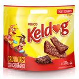 Bifinho Para cães Keldog Carne 500g - Petisco flexível para cachorros