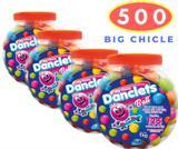 Big Chicle Danclets Ball Pote  com 500 unidades de Bola de Chicletes Danilla