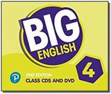 Big Eng 2nd AmE Class CD and DVD Level 4 - Pearson