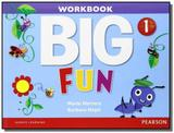 Big fun 1 workbook with audio cd - Pearson