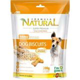 Biscoito Adimax Pet Formula Natural Dog Biscuit para Cães Adultos - 200 g - Formula natural adimax pet