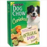 Biscoito Nestlé Purina Dog Chow Carinhos Integral Duo Para Cães De Porte Médio E Grande 500g