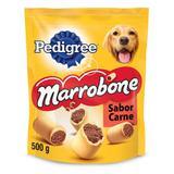 Biscoito Pedigree Biscrok Marrobone Cães Adultos Sabor Carne 500g