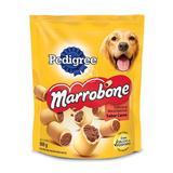 Biscoito Pedigree Marrobone para Cães Adultos Sabor Carne 500g