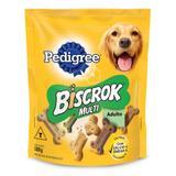 Biscrok Multi Pedigree Biscoito para Cães Adultos-500g