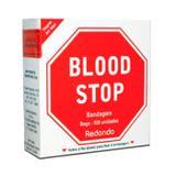 Blood Stop Bandagem Redondo Bege 500 unidades