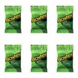 Blowtex Preservativo Sabor e Aroma Menta C/3 (Kit C/06)