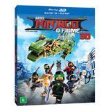 Blu-Ray + Blu-ray 3D Lego Ninjago O Filme - Warner bros.