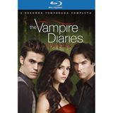 Blu-Ray Box - The Vampire Diaries - 2ª Temporada Completa - 4 Discos - Warner bros.