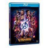 Blu-Ray - Vingadores: Guerra Infinita - Disney