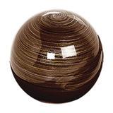 Bola de Mesa Grande Terra - Cerâmica ana maria