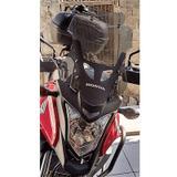 Bolha Alta Fumê Honda CB500X 2014-2019 Com Defletor - Moto bolhas