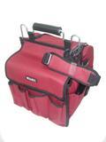 Bolsa de poliester vermelha com compartimentos br - Wahl