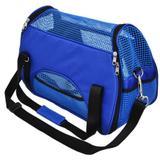 Bolsa de transporte para cães e gato atenas n2 são pet 48*25*36 azul