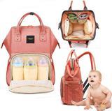 Bolsa Maternidade Bebê Mochila Mamãe Impermeavel Multifuncional Compartimento Celular Acessorios Mãe Criança - Cybee