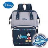 Bolsa Maternidade Disney Original Mickey com Alça para pendurar em Carrinho de Bebê