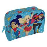 Bolsa, Nécessaire 23cm De Nylon Flyng Heroes Pois FD Super Heroes Girls - H41272