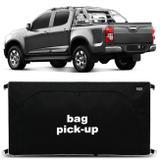 Bolsa Para Caçamba Pick-Up S10 2012 a 2019 Preto 360 Litros Tamanho M Capacidade 50Kg - Top gear