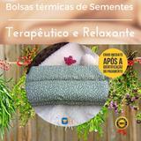 Bolsa Térmica de Sementes e Ervas Medicinais Multi Uso - Alecrim - Orthohouse