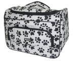Bolsa white bag black paw print - Wahl