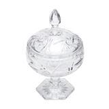 Bomboniere, Porta Doces 18cm De Cristal Prima Lyor - L3720 - Lyor classic