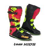 Bota Ims Light Kids Motocross Infantil Verm/Fluo/ Tam 35 BRA