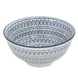 Bowl em Porcelana 280ml - Azul Étnico - Full Fit