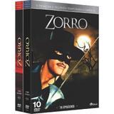 Box DVD Zorro A Primeira E Segunda Temporada Completa - Universal
