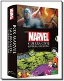 Box marvel - guerra civil guerras secretas - novo - Novo seculo